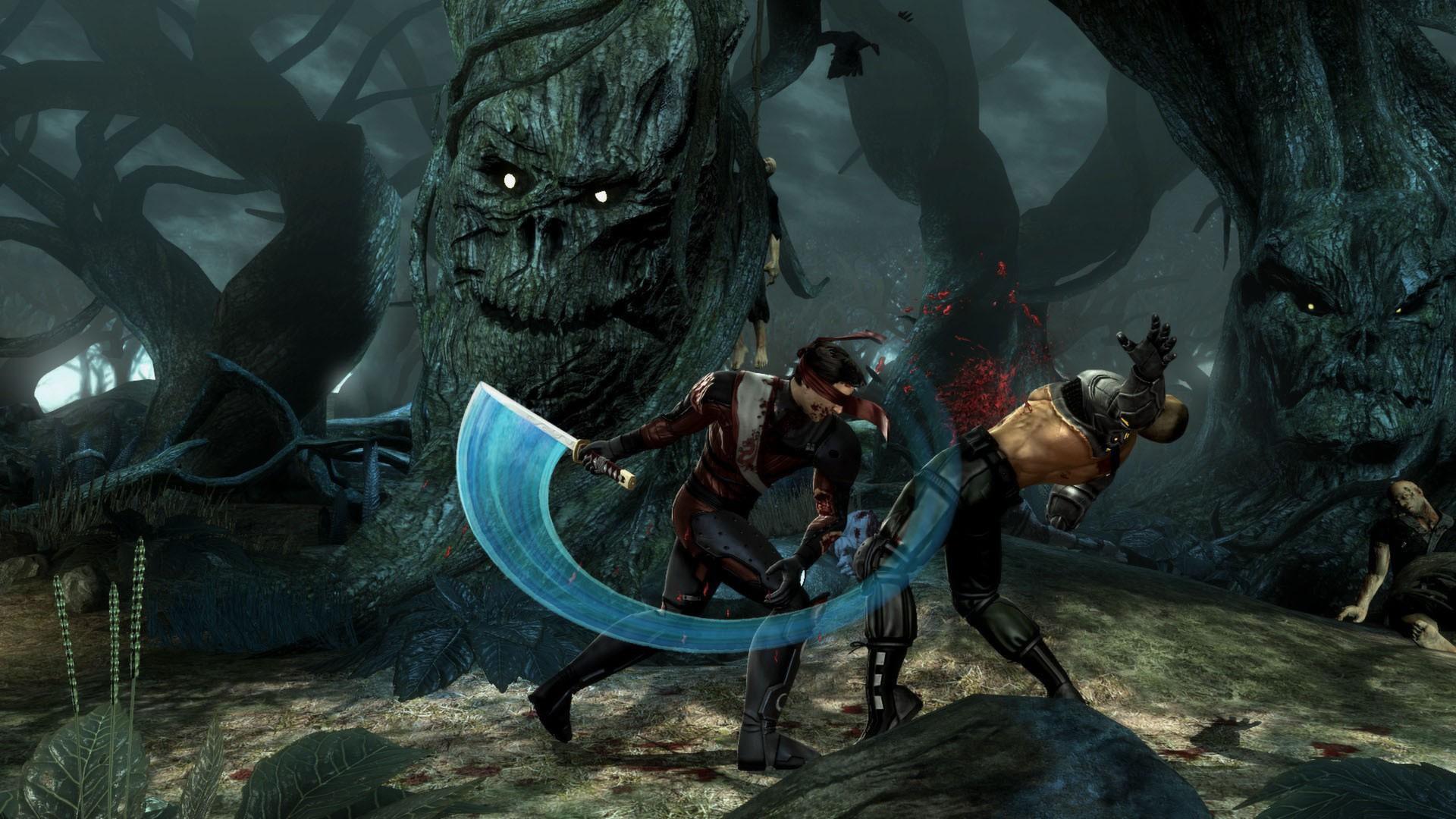 Обои Mortal kombat, персонажи, komplete edition. Игры foto 18