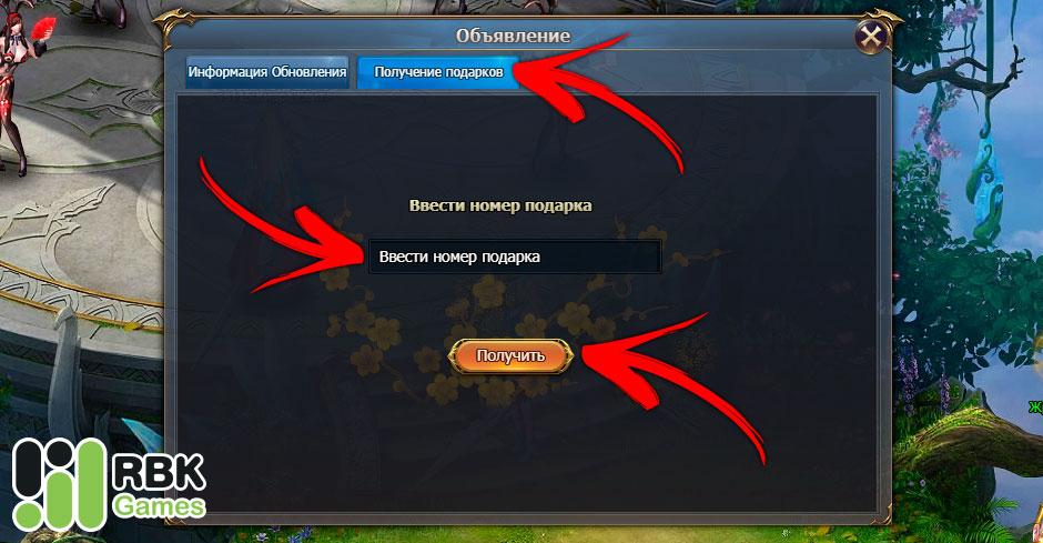 Как активировать промокод в Dragon Knight 2