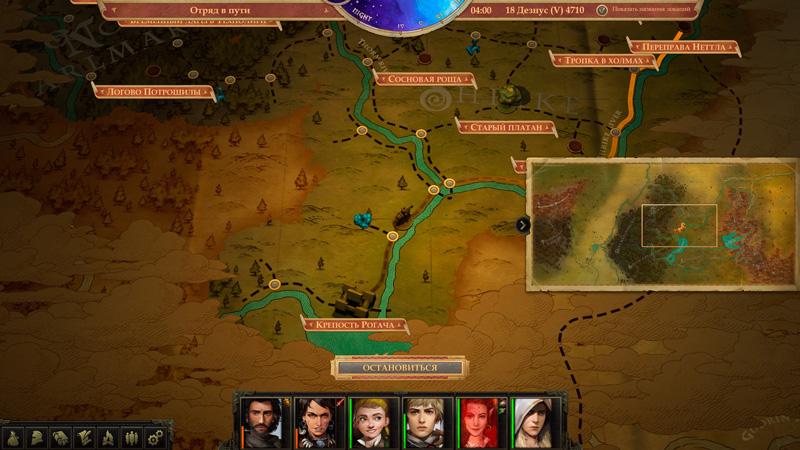 Обзор Pathfinder: Kingmaker — хардкор, кубики и баги — скриншот №14