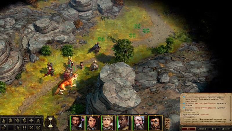Обзор Pathfinder: Kingmaker — хардкор, кубики и баги — скриншот №3