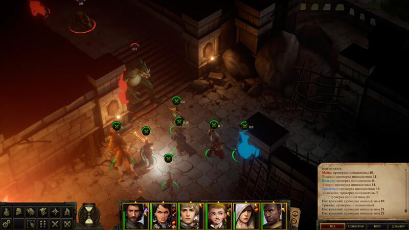 Обзор Pathfinder: Kingmaker — хардкор, кубики и баги — скриншот №4