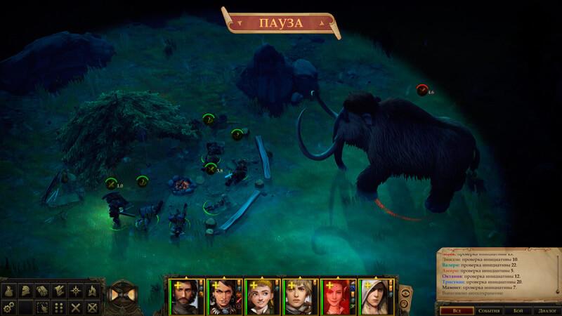 Обзор Pathfinder: Kingmaker — хардкор, кубики и баги — скриншот №8