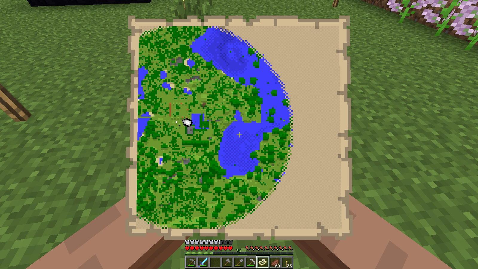 как сделать карту в майнкрафт всего мира #3