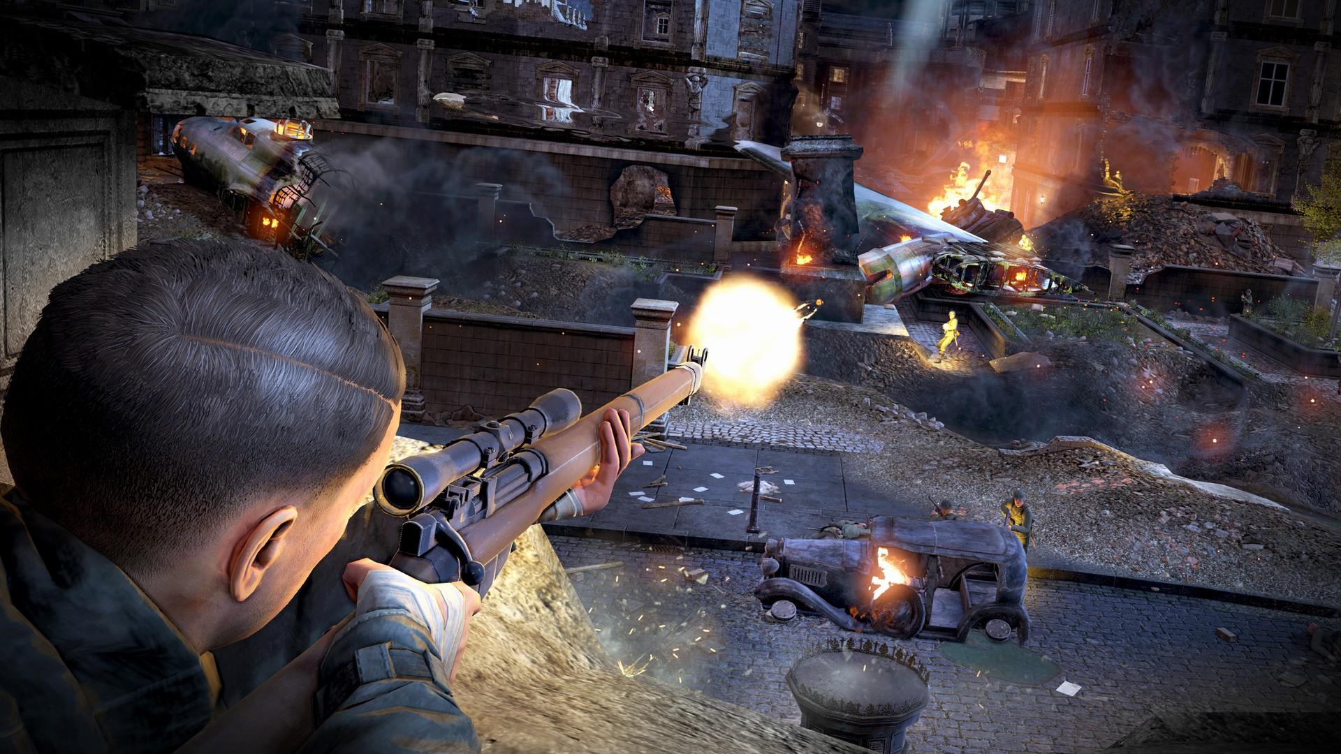 Как игроки получают трофеи в Sniper Elite V2 Remastered