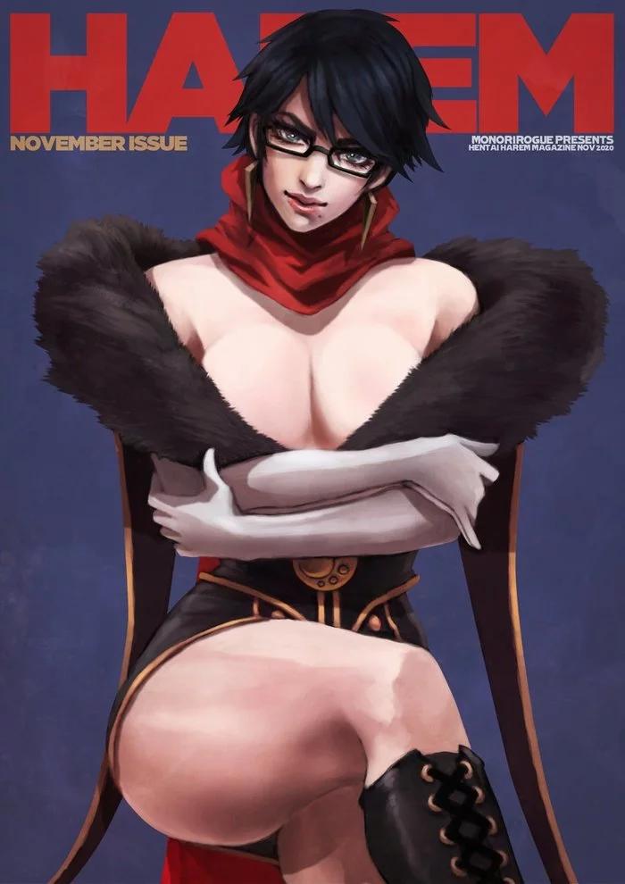 Пятничный арт на Байонетту (Bayonetta)