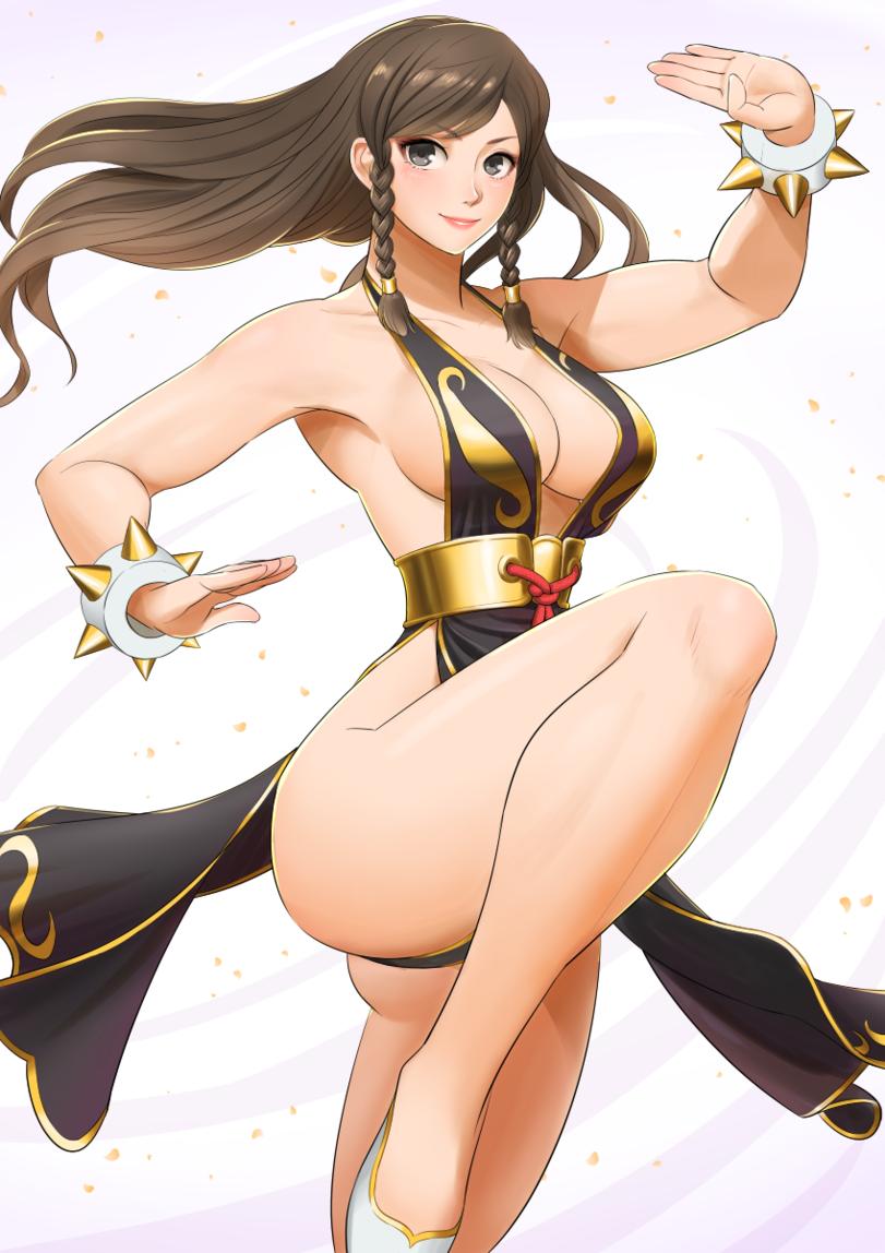 Пятничный арт на Чунь Ли из Street Fighter — откровенные рисунки со спортивной девушкой