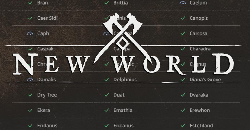Как проверить статус серверов New World — гайд