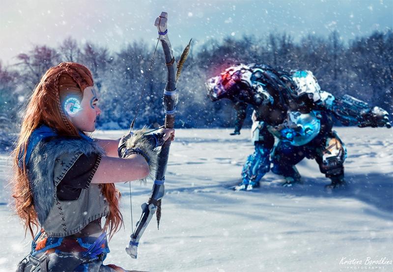 Пятничный косплей — God of War и Borderlands