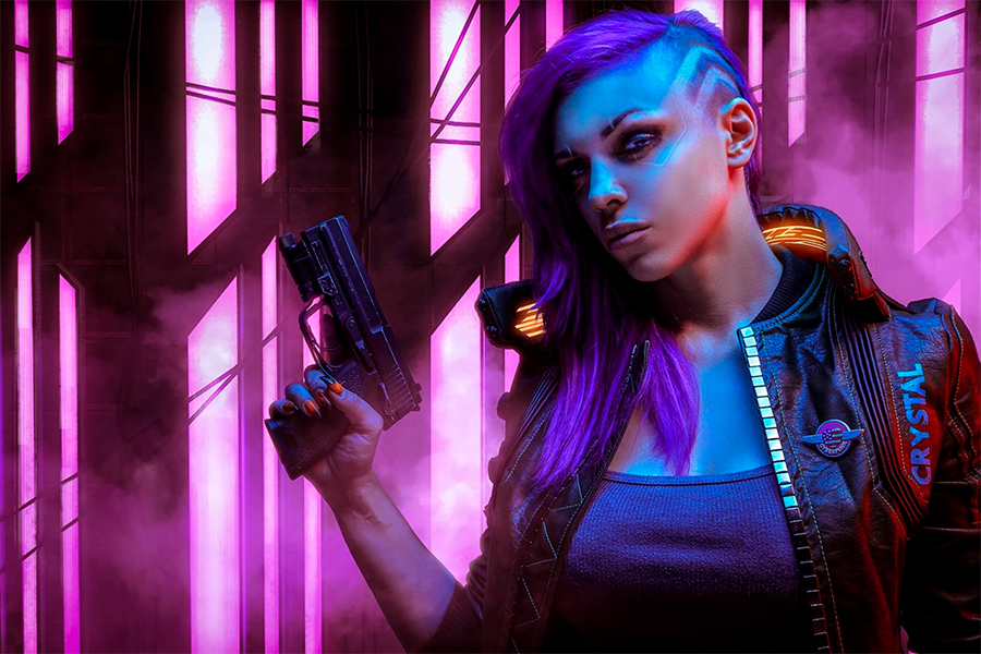 Косплей Cyberpunk 2077