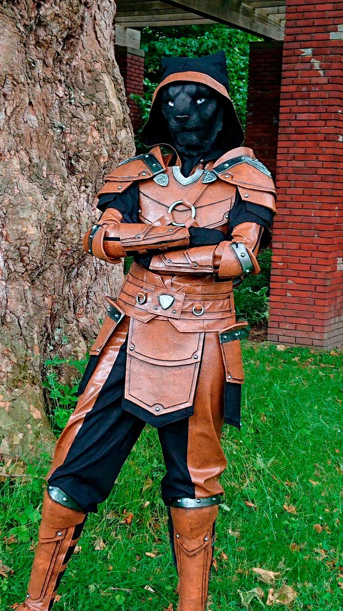Модель Twai в образе Каджита из The Elder Scrolls