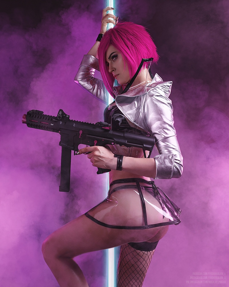 Правильный косплей по Cyberpunk 2077 — пять новых образов