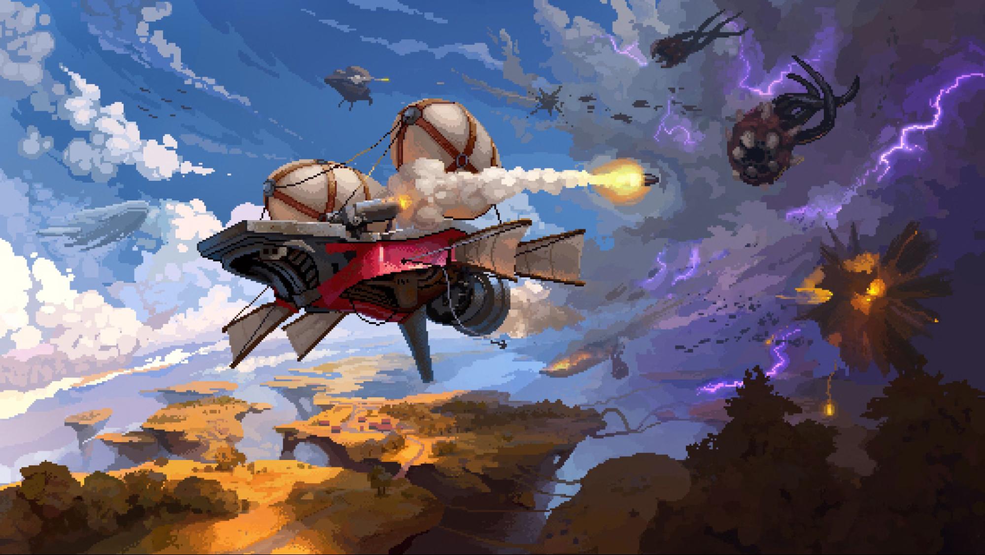 Обзор Black Skylands — скриншоты, геймплей и полёты