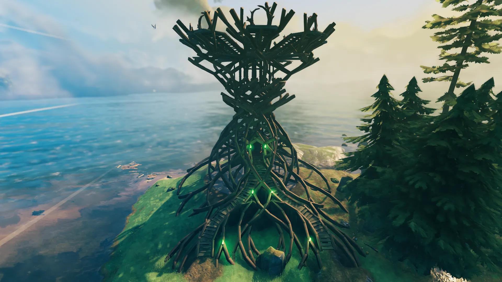 Семь лучших построек в Valheim — красивые дома, башни и невероятные крепости