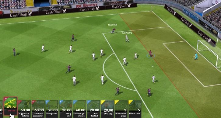 играть футбольный симулятор онлайн