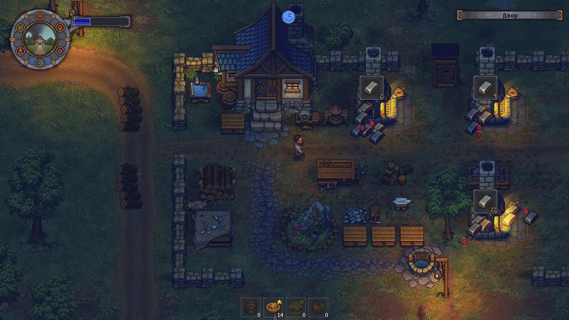Скриншот Graveyard Keeper