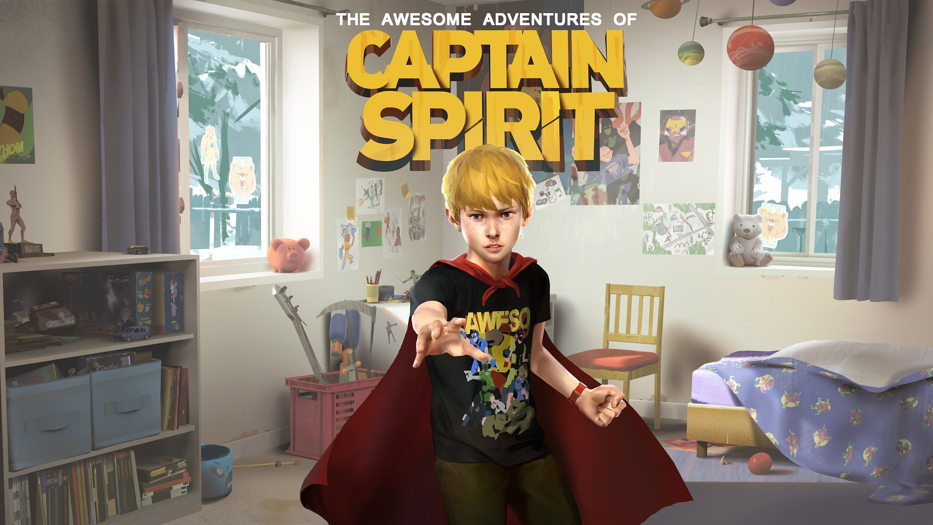 Трейлер The Awesome Adventures of Captain Spirit