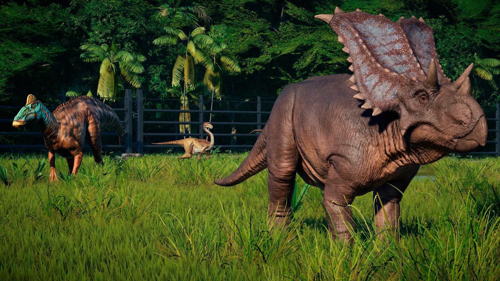 Геймплей Jurassic World Evolution