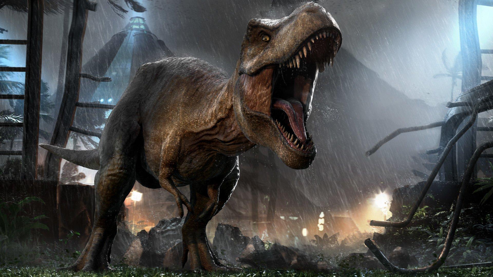 Трейлер Jurassic World Evolution