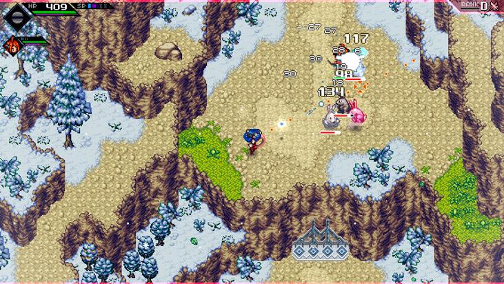 Лучшие новинки игр сентября: скриншот CrossCode