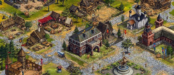 экономические стратегии игры средневековье