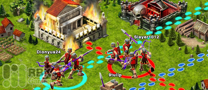 Game of war Fire Age на Android