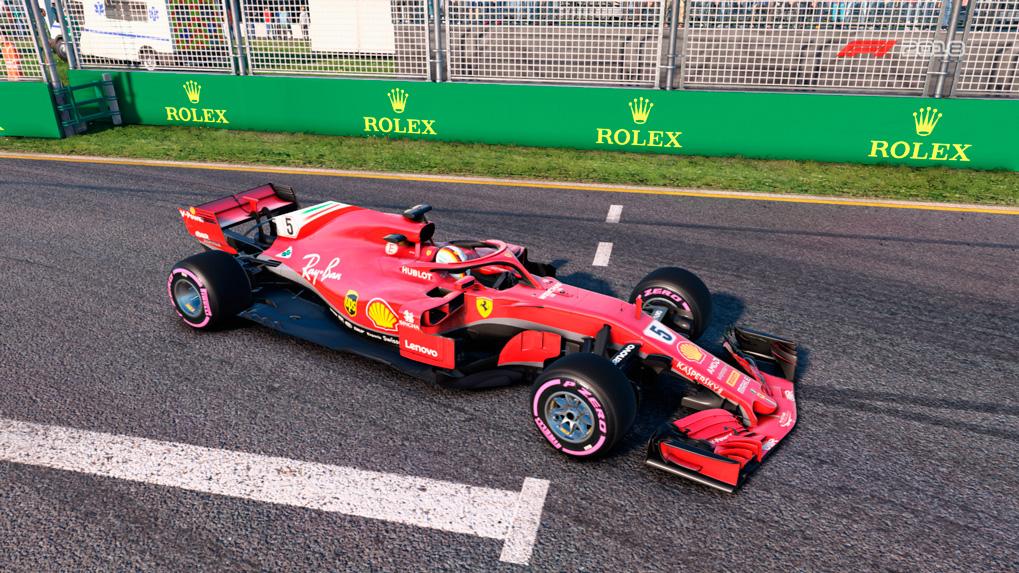 Болид команды Scuderia Ferrari