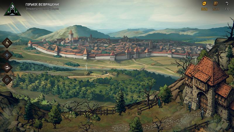 Обзор игры Кровная вражда: Ведьмак. Истории — Ода воинственной Мэве (скриншот №2)