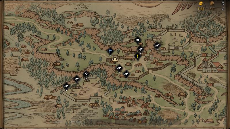 Обзор игры Кровная вражда: Ведьмак. Истории — Ода воинственной Мэве (скриншот №8)