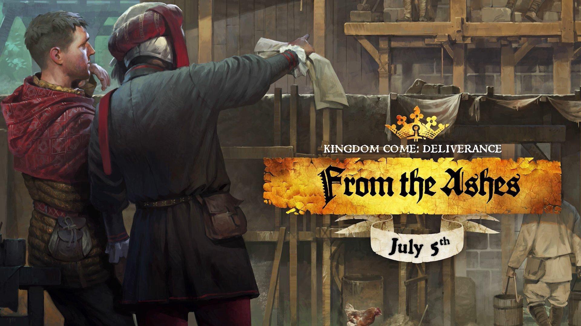 Пепельный обзор Kingdom Come: Deliverance: From the Ashes