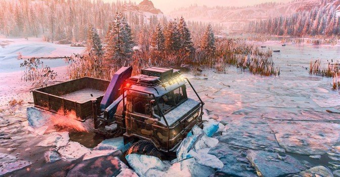 Вышло DLC «Season 1: Search and Recover» для SnowRunner