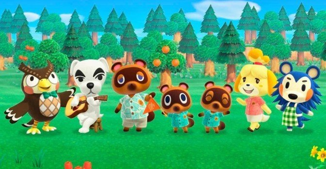 Animal Crossing: New Horizons вышла на Nintendo Switch