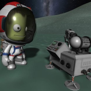 Скриншот Kerbal Space Program
