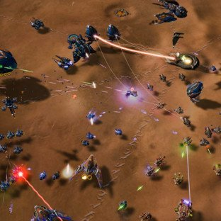 Скриншот Ashes of the Singularity: Escalation