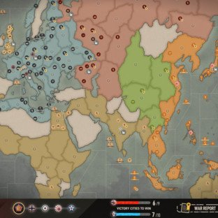 Скриншот Axis and Allies 1942 Online