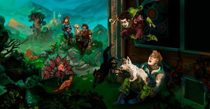 Вышло дополнение Paws and Claws для Children of Morta