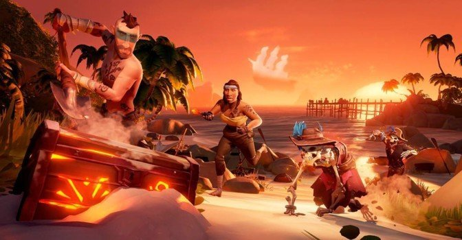 Пиратский экшн Sea of Thieves выйдет в Steam