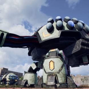 Скриншот Earth Defense Force: Iron Rain