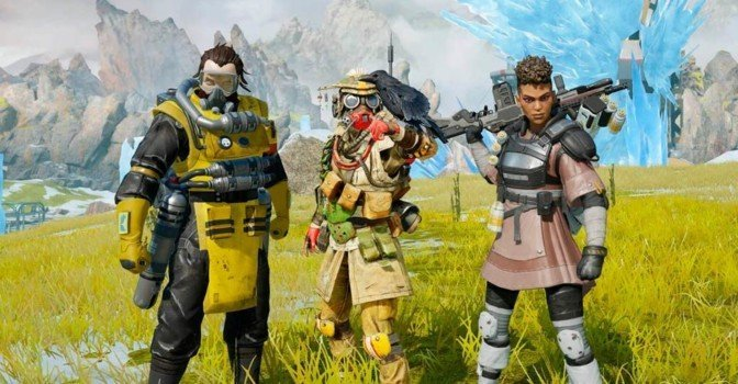 В апреле стартует тестирование Apex Legends Mobile