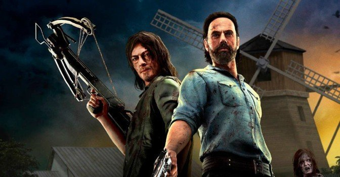 В сентябре выйдет VR-экшн The Walking Dead Onslaught