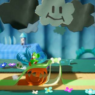 Скриншот Yoshi's Crafted World